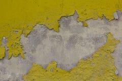 Grunge  old brick wall. Grunge  old brick  yellow wall Stock Photography
