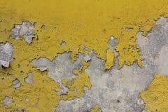 Grunge  old brick wall. Grunge  old brick yellow wall Royalty Free Stock Image