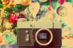 Grunge Old Camera Stock Images