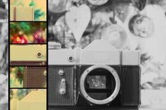 Grunge Old Camera Royalty Free Stock Photos