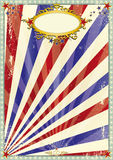 Grunge old circus background Royalty Free Stock Image