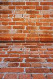 Grunge and old Construct wall with cement and brick on home. Construction background concept stock images
