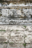 Grunge old floor and  concrete wall Stock Images