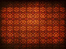 Grunge old flourish pattern background Royalty Free Stock Image