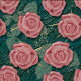 Grunge old flowers floral pattern background Royalty Free Stock Photo