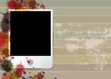Grunge old frame picture design. Illustration Stock Image