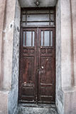 Grunge old house home wooden door Stock Photography