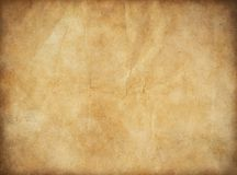 Grunge old paper for treasure map or vintage. Old paper for treasure map or vintage letter Royalty Free Stock Photo