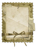 Grunge old papers design Stock Photography