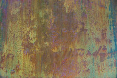 Grunge old rusty metal wall royalty free stock image