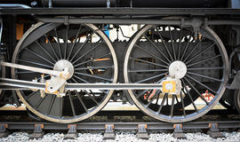 Free Grunge Old Steam Locomotive Wheel And Rods Stock Image - 31944401