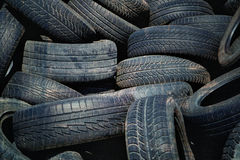 Grunge old tires Stock Photography