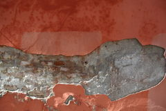 Grunge old wall plaster Stock Image
