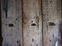 Grunge old wood wall. Background Stock Images
