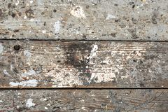 Grunge old wooden deck texture. Weathered old wooden deck texture royalty free stock image