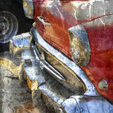 Grunge oldtimer detail Royalty Free Stock Photo