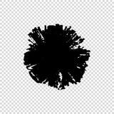 Grunge om Borstel Vuil artistiek ontwerpelement Vector illustratie vector illustratie