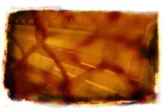 Grunge orange Images stock