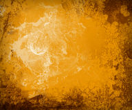 Grunge orange background stock illustration
