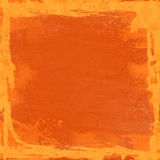 Grunge orange background Royalty Free Stock Photos