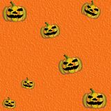 Grunge Orange Halloween Background Royalty Free Stock Photography