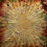 Grunge orange sun rays Royalty Free Stock Photos