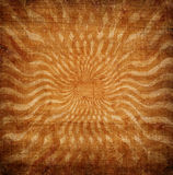 Grunge orange sun rays Royalty Free Stock Photography