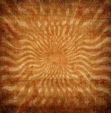 Grunge orange sun rays Royalty Free Stock Photography