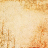 Grunge orange texture or background with  Dirty or aging. Royalty Free Stock Photography