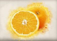 Grunge oranges Stock Photo