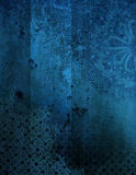 Grunge Ornamental Background Stock Photo