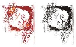 Grunge ornamental frame Royalty Free Stock Images