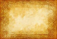 Grunge ornamentu papier Obrazy Royalty Free