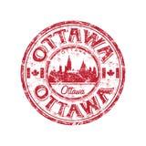 grunge Ottawa pieczątka Zdjęcia Royalty Free