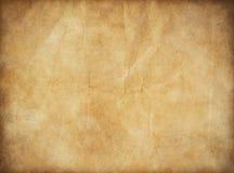 Grunge oud document voor schatkaart of wijnoogst Royalty-vrije Stock Foto