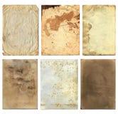 Grunge Oude Document Stukken 2 Royalty-vrije Stock Afbeelding