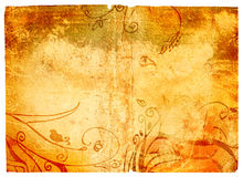 Grunge Page With Texture Royalty Free Stock Images