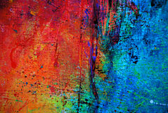 Grunge paint 0022. Abstract mixed media paint with color and texture Royalty Free Stock Image