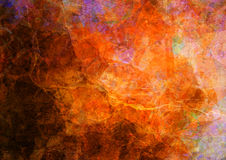 Grunge paint. An abstract and colored grunge texture royalty free stock image