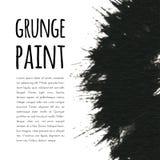 Grunge paint background. Vector illustration for your design stock illustration