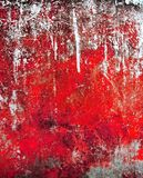 Grunge paint on metal Royalty Free Stock Photo