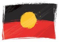 Free Grunge Painted Aboriginal Flag Stock Photo - 164367470
