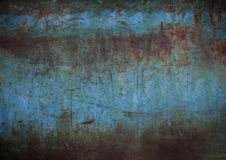 Grunge painted wall background Stock Photo