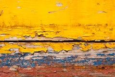Grunge painted wood stock image