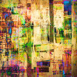 Grunge painting Royalty Free Stock Photography