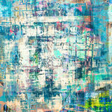 Grunge painting Royalty Free Stock Images