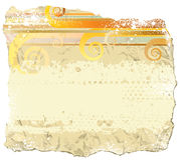 Grunge paper. Surf style. Vector background stock illustration