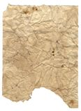 Grunge Paper 4. Ripped aged parchment stock photo