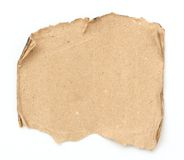 Grunge paper. On white background Royalty Free Stock Image