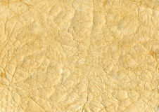 Grunge paper. Background texture yellow Royalty Free Stock Photography